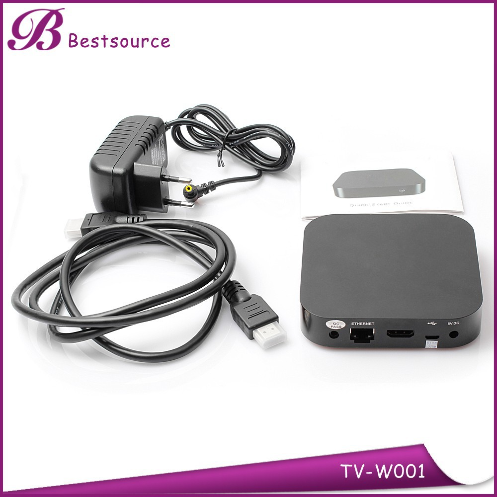 Original K8 TV Box Media Player Z3735F Android 4.4 Quad Core Make Super TV