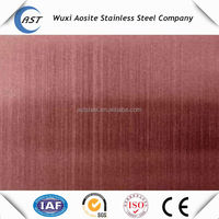 304 316 hairline stainless steel sheet color finish stainless steel plate for decoration