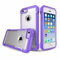 Untra Thin Transparent PC Case for iPhone 5 for iPhone 5s Case TPU
