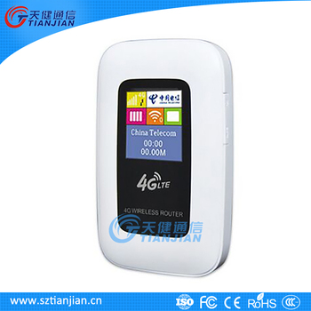 Shenzhen 4G Wifi Router With SIM Card Slot
