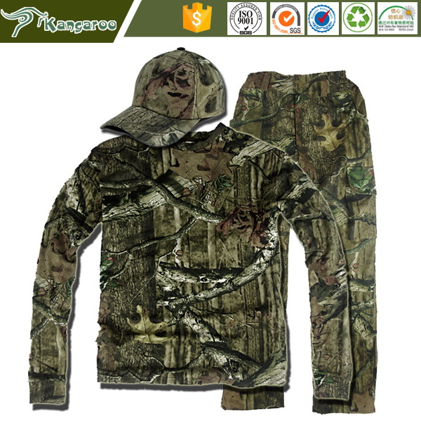 New Design Kung Fu Track Camouflage Suit Man