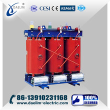 25-2500kva Low loss three type 33kv 11kv dry type transformer price