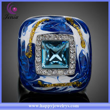 Unique Design Fashion Gold Ring Designs for Girls (XR027)