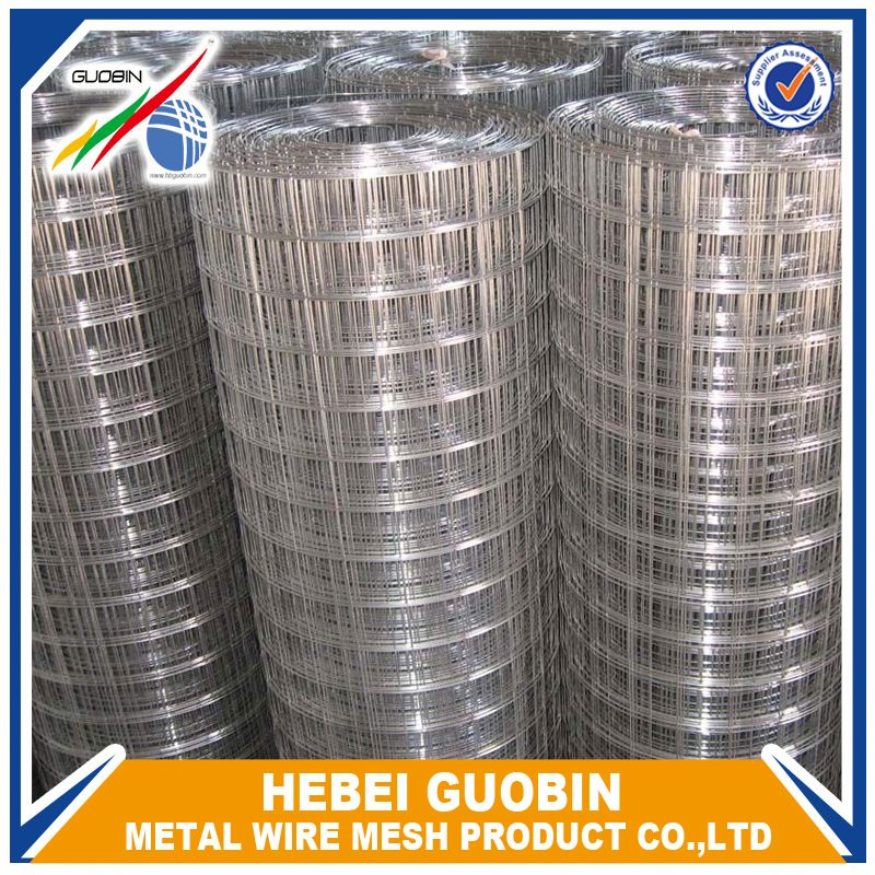 Direct Factory supply galvanized rebar galvanized welded wire mesh panel