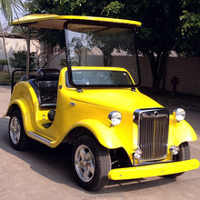 Best design 4 wheel drive vintage golf cart 4 seater electric cars
