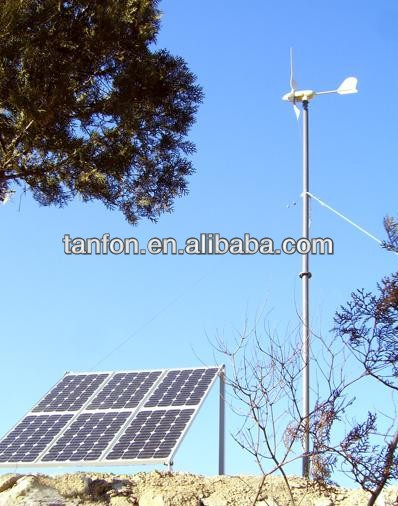 1kw solar and wind hybrid controller 30w small solar home system solar water purification system