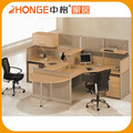Hot Sale Oval-Shaped Malaysia 2 Person Office Workstation In Foshan