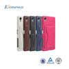Wholesale Price Flip Wallet Leather Phone Case For Sony Xperia