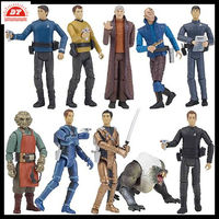 3D OEM vinyl PVC star trek cheap action figures