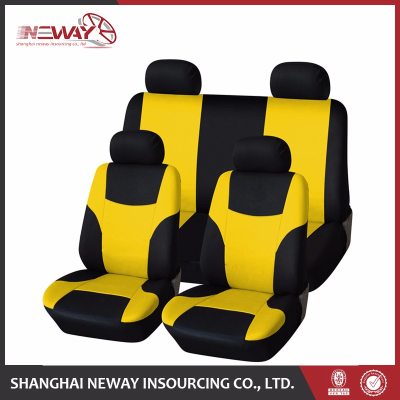 Wholesale polyester universal car seat cover brand