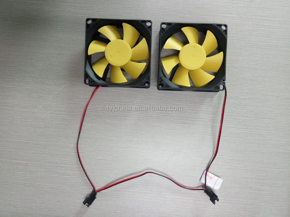 "12v dc cooling fans 80x80x25mm 2200rpm cpu fans 3.15""x3.15""x1"" UL CE certificate cooling fan for LED plant lights"