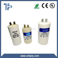 Xiamen Trump cbb60 8uf motor run capacitor for water machine