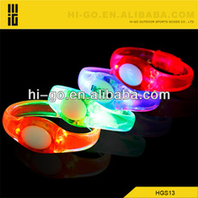 Popular sound activated led bracelet for party
