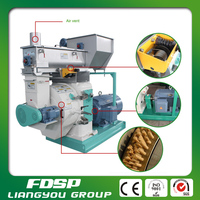 High efficiency capacity straw pellet mill with factory price