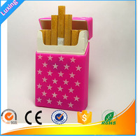 Promotional Gift King Size Tobacco Cigarettes Silicon Carry Case For hold 20 pcs