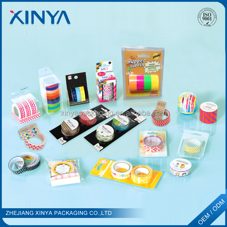XINYA Wholesale Custom Make Children Cartoon Multicolor Printing Washy Tape With Cheap Price