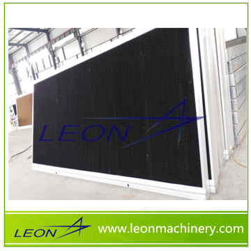 Leon series poultry farm used evaporative cooling pad with frame for sale