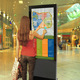 "42"" led display lg replacement lcd advertising kiosk 43inch samsung vertical screen tv"
