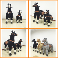 Kid funny toy!! Popular pony riding girl, kids jumping toys,kid riding horse toy