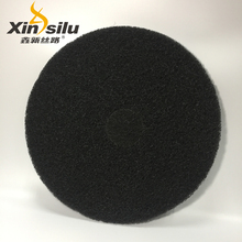 17 inch black abrasive concrete floor polishing pads
