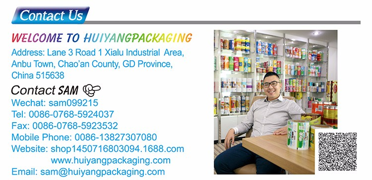 Custom Printed Laminating Aluminum Foil Food Packaging Film For Candy