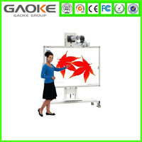 China supplier shenzhen optical interactive smart board with educational pen work with computer for sale