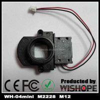 WH-04mini-M2228 Metal M12 Lens Holder and 22mm, HD IR Cut Filter Switch