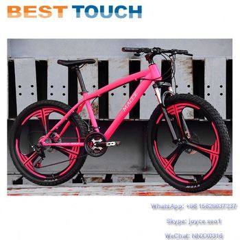24'' 26'' Size MTB Double Disc Brakes 6 Spokes Integrated Wheel Mountain Bicycle