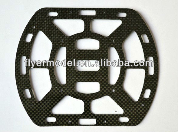 Carbon Fiber Fuselage Lower Plate for Bumblebee