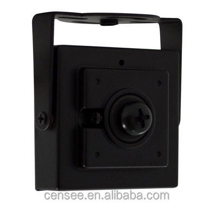 "1/3"" Sony CCD 420tvl 34x34mm Square Housing Pinhole Button Lens camera IR Mini Hidden Camera"