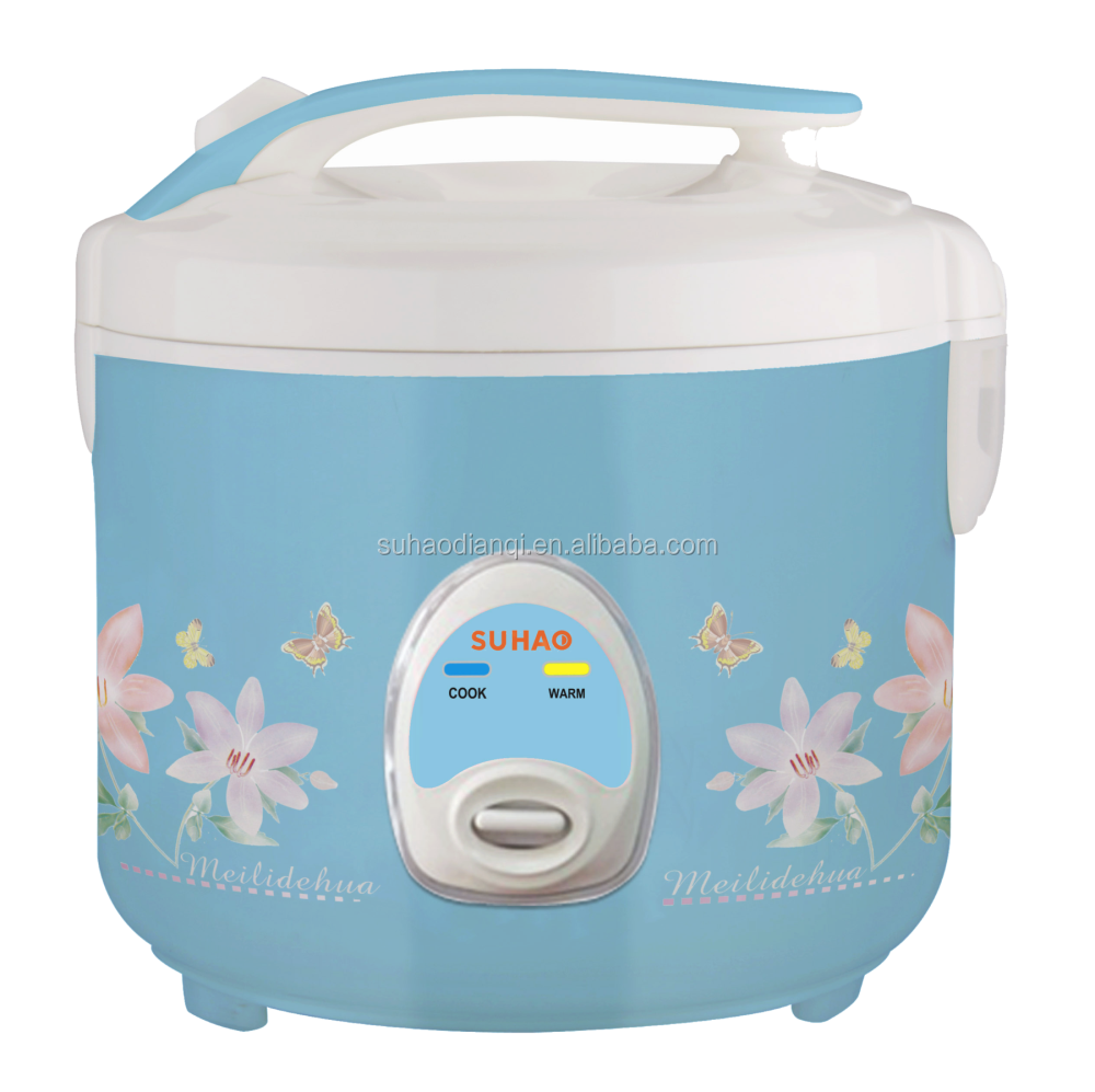 Blue printing multi fullbody rice cooker SH-2016-B-A9