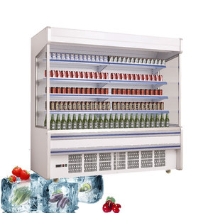 Green&Health supermarket open cooler/supermarket multi-deck open chiller / air cooled open chiller