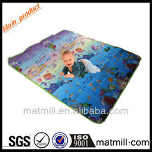 PVC/cotton waterproof disposable baby changing mat, good price of printed disposable baby changing mats