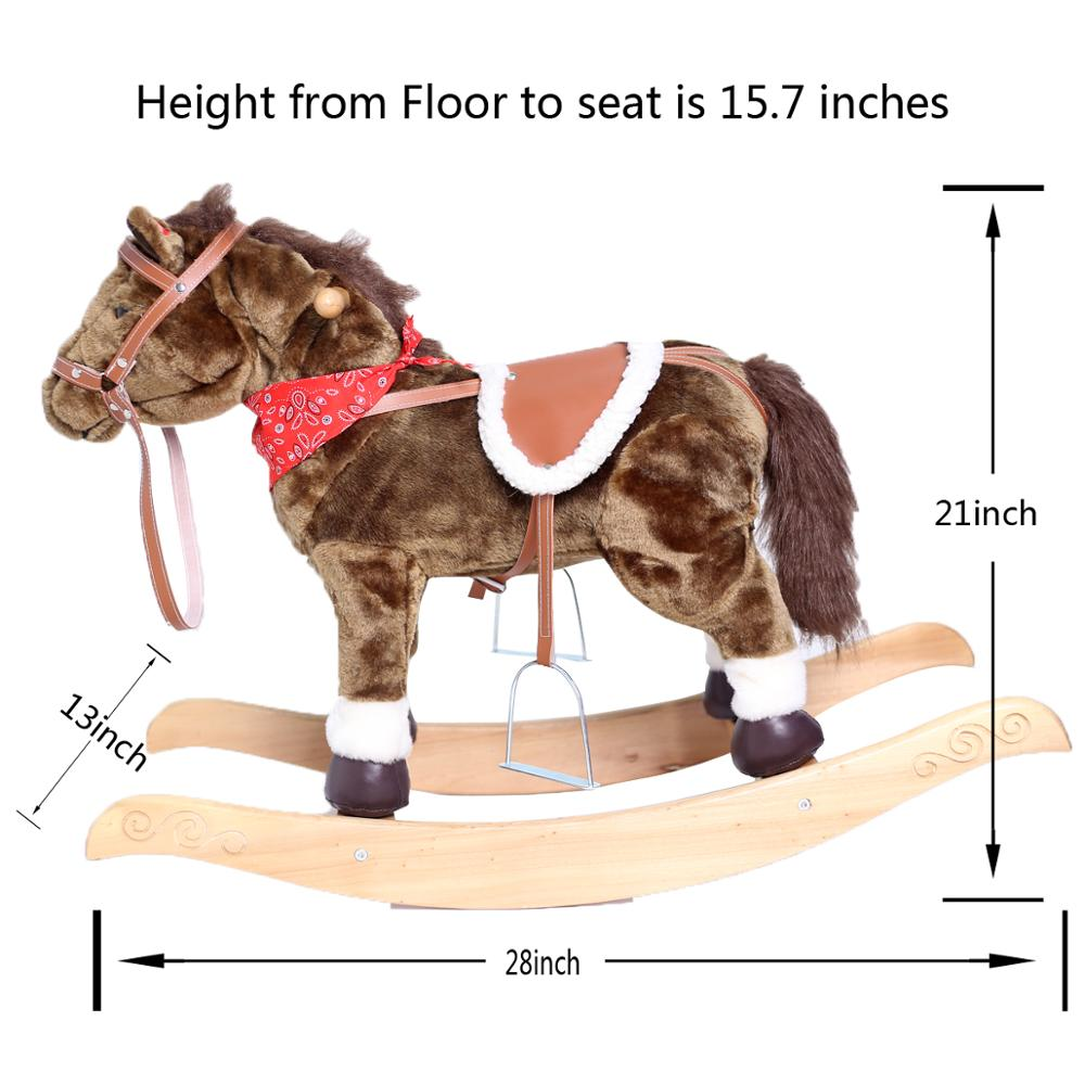 Hollypet walking horse for kid with factory price