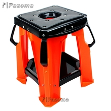 hardened steady plastic motorcycle stand motocross bike repair stand dirt bike stand