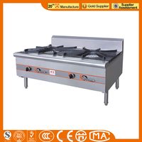 JINZAO SPS-2-14C-N Commercial usage Stove Double-burner Soup Stove Cooktops Chinese work Cookers