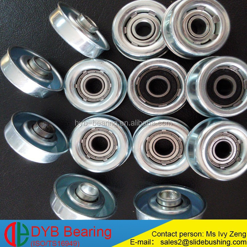 Conveyor belt roller ball caster bearing,small steel skate wheel bearing for goods transporting conveyor roller bearing