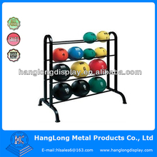 metal ball display rack/ ball display Shelf rack