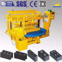 mobile type concrete block making machines QMY4-30A small block machine mobile hollow block machine price
