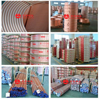 C12200 ASTM B280 HONGTAI manufacturer copper pipe from China