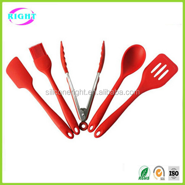 Colorful silicone kitchen utensils buy silicone kitchen for Colorful kitchen tools