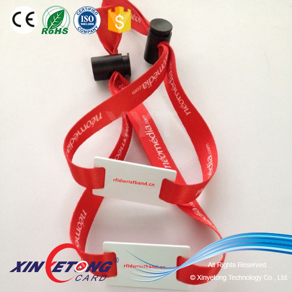 Type 2 888byte Ntag216 Fabric Woven NFC Wristband
