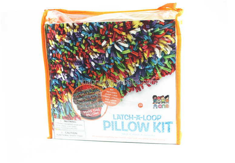 DIY Toy Kids Knitting Pillow Kit