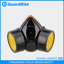 GuardRite Brand Double Tank Activated Carbon Respirators Mask Gas Mask