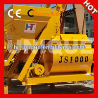 High Efficiency JS1000 Automatic Concrete Mixers For Sale