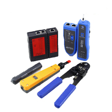 NF-1107 Internet Network Cable Tester Wire Crimp LAN RJ45 RJ11 Analyzer Tool Kit