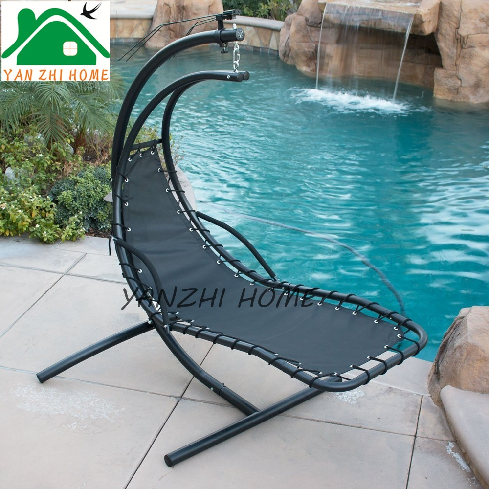 Poly fabric Outdoor furniture poly rattan hanging swing chair cover