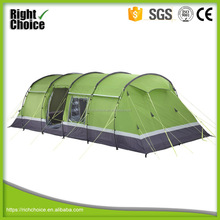 8 Person 2 Room Luxury Waterproof Camping Large Family Tent with living room