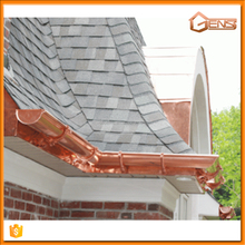 Copper Rain Gutter For Meatl Building Materials
