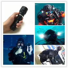 2016 Rechargeable 1000 Lumens Most Powerful Scuba Led Diving Torch